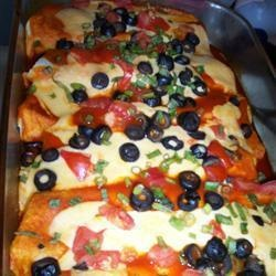 Milde kip enchiladas recept - Recepten van Allrecipes