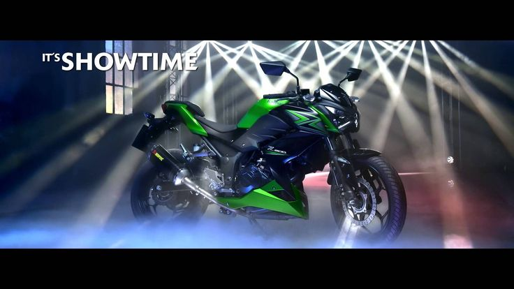 New Kawasaki Z300 MY15 - IT'S SHOWTIME