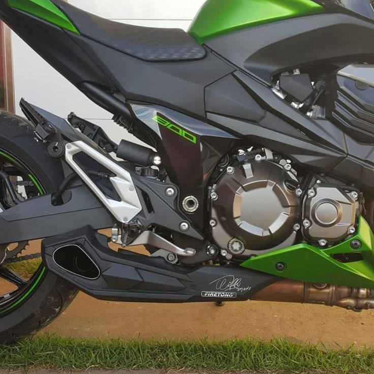 Escapamento Esportivo Kawasaki Z800 Firetong Willy Made