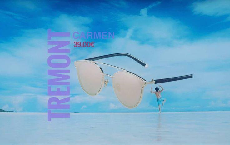 Todavía sin tus gafas de sol para este verano? . Ahora nuestras TREMONT CARMEN pueden ser tuyas con 20 de descuento. Antes 59 ahora 39.  6 colores disponibles.. 100% PROTECCIÓN UV  Por poco tiempo!  Envío en 24H  #sunoptica #gafas #sunglasses #gafasdesol #occhialidasole #sunnies #moda #tremont #tremontsunglasses #tremontcarmen #promocion #descuentos #ofertas #verano