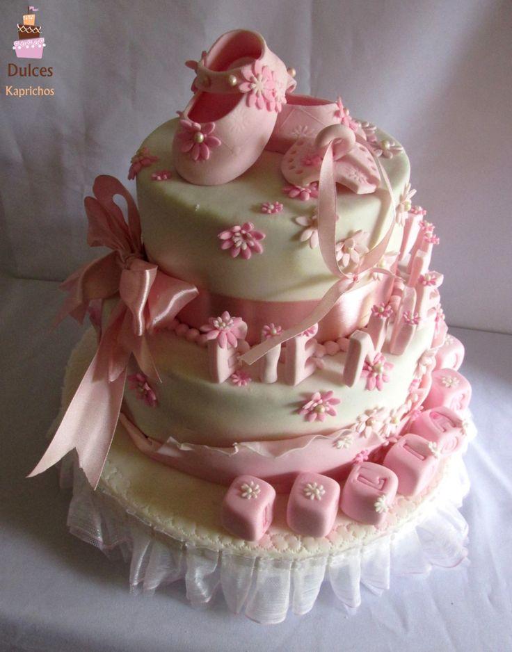 Tortas Baby Shower #TortaBabyShower #TortasDecoradas #DulcesKaprichos