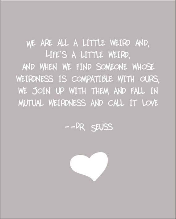 Mike and I totally fell into a compatible weirdness <3