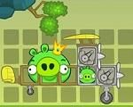 In Bad Piggies HD 2015, The Bad Piggies are after the eggs again, but as usual, nothing goes according to their plans! Will you be able to create a flying machine and lead them safely to their destination? These clever pigs have a few objects to use, but they need your help to build the perfect transportation. Have fun playing with Angry Birds!