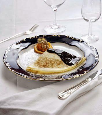Gundel palacsinta/Pancakes Gundel Style - special hungarian dessert. Recipe: http://www.chew.hu/gundel_palacsinta/