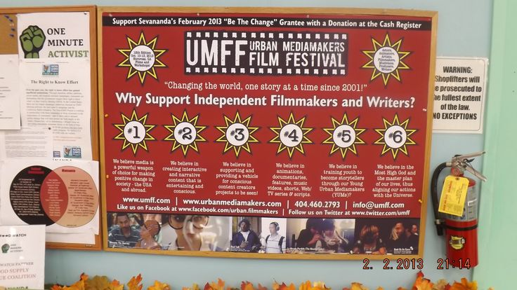 Reasons to support the Urban Mediamakers Film Festival!