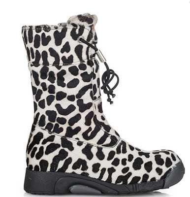 den korte sneleopard støvle