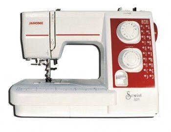 Macchina da cucire Janome Sewist 521 - Macchina per cucire meccanica portatile.