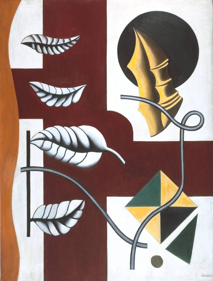 Léger, Fernand - Feuilles et coquillages - Tate Modern, Londres