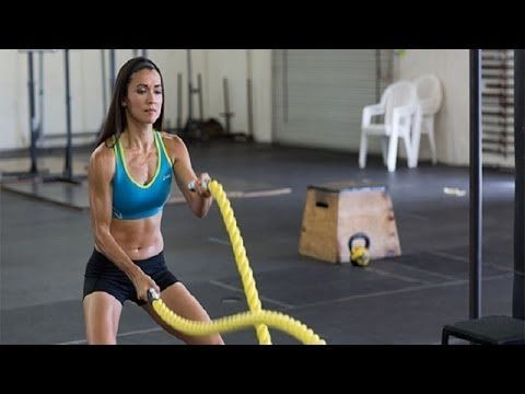 ▶ Top 12 Battle Rope Exercises For Fast Weight Loss - YouTube