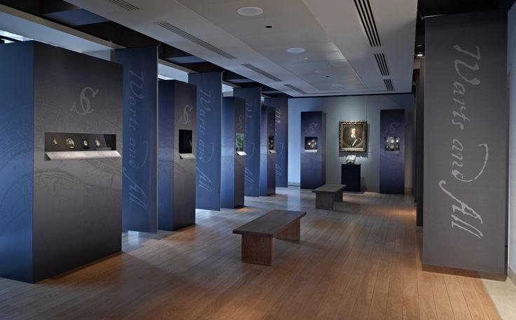 An exhibition designed for Philip Mould of Warts and All; Samuel Cooper. Exhibition designed and built by 4D Projects.
