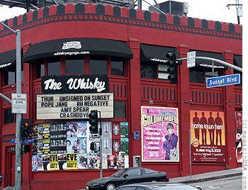 The Whiskey a Go Go Club, Sunset Strip, Hollywood, CA