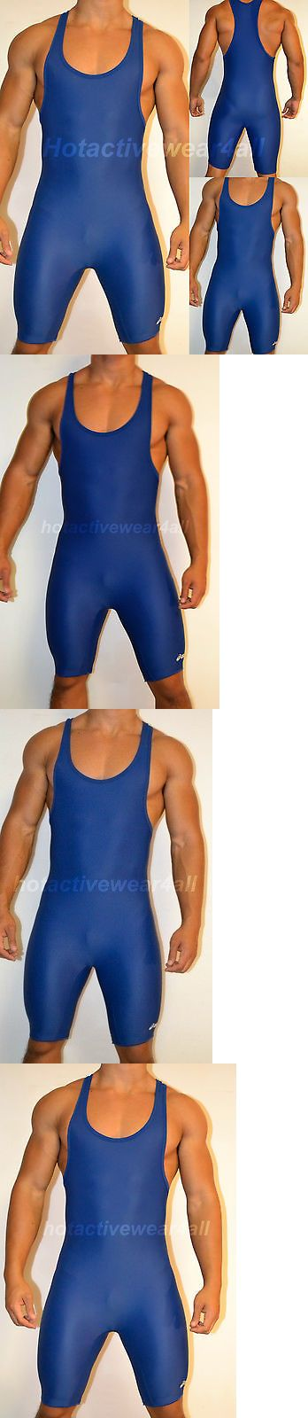 Clothing 79796: New Asics Adult Mens Wrestling Singlet All Sizes, Solid Royal Blue Jt200 S M L -> BUY IT NOW ONLY: $34.03 on eBay!