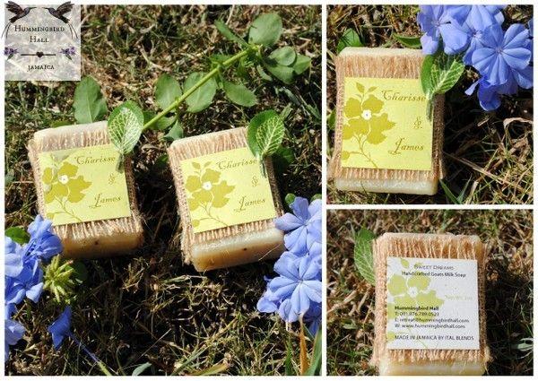 Caribbean Wedding Favor Ideas: Locally Made Handmade Soap Jamaica Destination Wedding