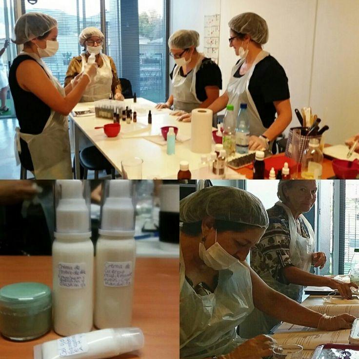 Elaboración de productos Cosméticos Naturales Se realizó #Crema de Rostro, #Crema de Cuerpo, #Loción de limpieza, #Máscara del rostro y #Labial con protección solar