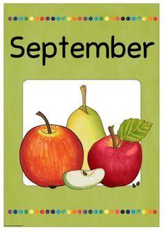 "Ideenreise: Monatsplakat ""September"""