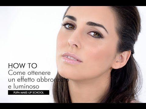 Come ottenere un effetto abbronzato e luminoso   Giorgio Forgani per PUPA Milano - YouTube