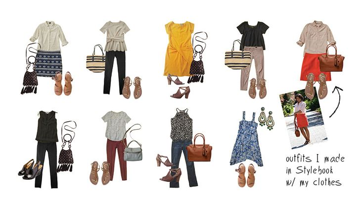Stylebook Closet App: How To Shop Your Closet: The Amazing Spring Outfits You Already Own