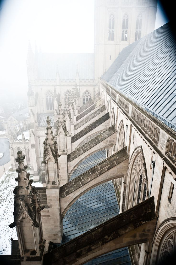 Washington National Cathedral boasts 231 stained glass windows, 112 gargoyles and 288 angels.