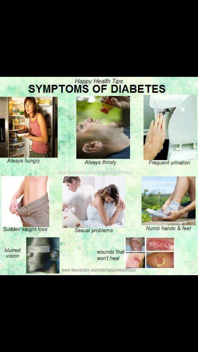 "Signs of diabetes are important to diagnose at an early stage. Most people have signs of diabetes for a long time.These signs of diabetes and symptoms of diabetes vary from person to person."" http://www.warningsignsofdiabetes.com"