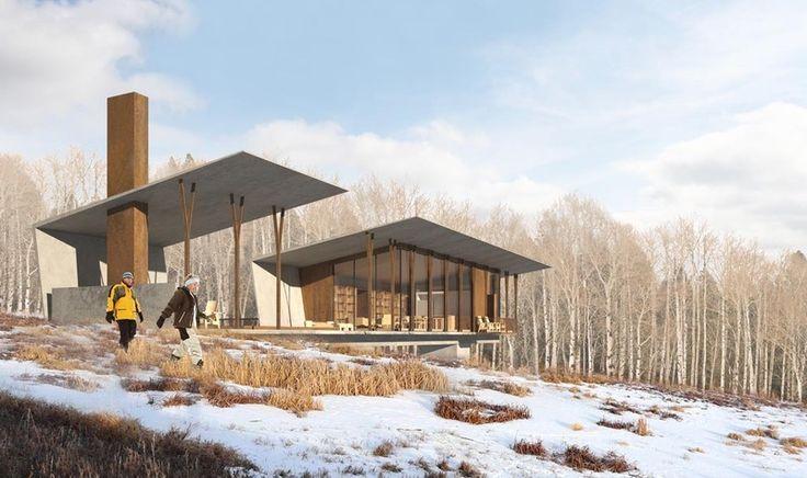 Olson Kundig Architects Projects Carraig Ridge Net Zero Passive House Architectural