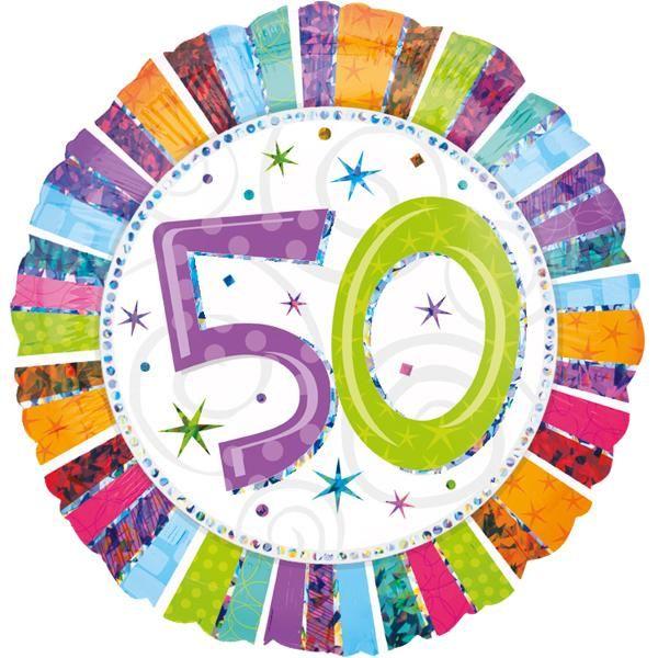 "Folienballon ""50. Geburtstag"""