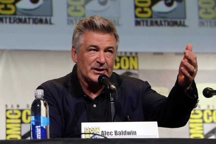 Alec Baldwin, the voice of Boss Baby, at Comic Con 2016!