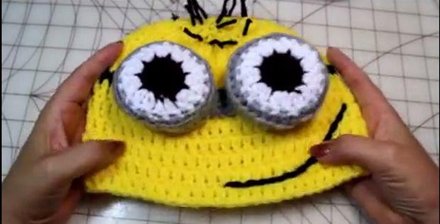 Crochet Minions Beanie