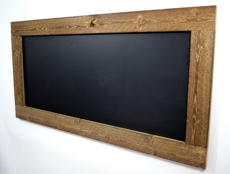 large rustic framed chalkboard or white dry erase board reclaimed wood chalkboard eco friendly