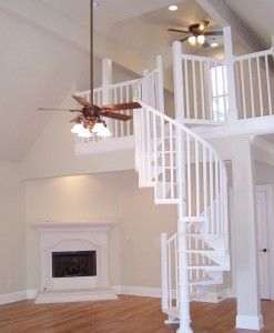 Spiral staircases are a great addition to any house with a mezzanine, loft or open second floor. However, choosing the right one can be difficult. That's especially true when you find yourself torn between a wooden spiral staircase and a metal version. We believe that wooden spiral stairs are often the best choice. Here are four reasons why they're the way to go: