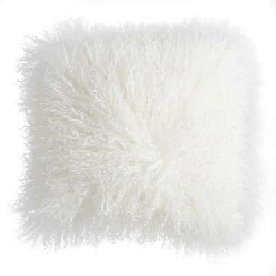 Mongolian Wool Pillow-my favorite accessory to use everywhere. On beds, sofa..even floor! I have them everywhere!