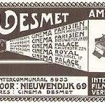 """Il 14 dicembre inizierà all'EYE Film Institute di Amsterdam """"Jean Desmet's Dream Factory - The Adventurous Years of Film (1907-1916)"""" esposizione con pellicole, manifesti e documenti di uno dei più importanti fondi esistenti"""