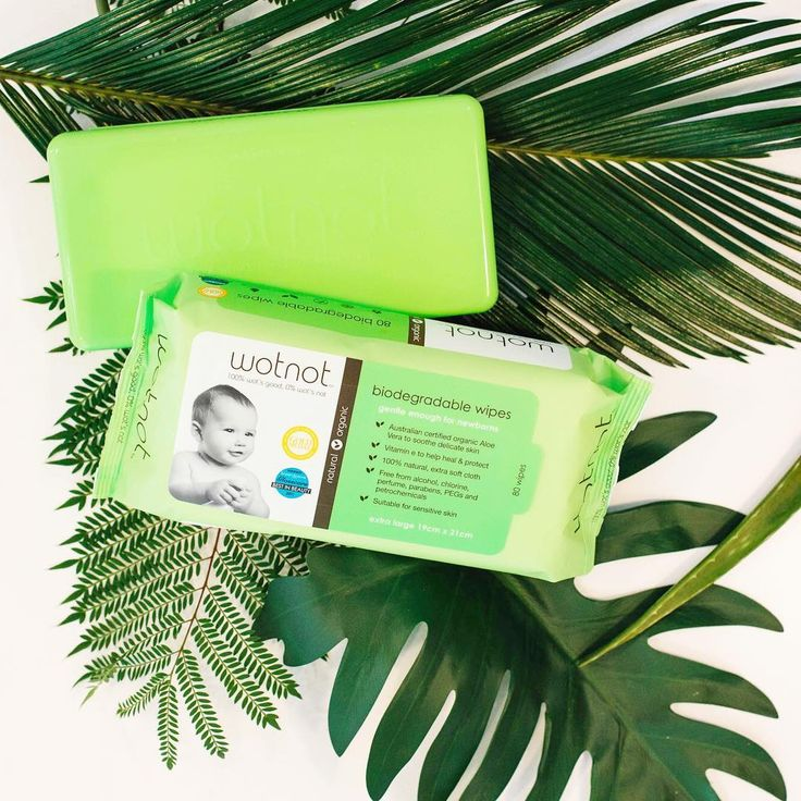 Wotnot - Natural and biodegradable. Free from all the nasties and filled with all the organic goodies. These beauties are packed with certified organic aloe vera which is perfect for cleansing, protecting and  healing your precious bub. Click the link to check out our Wotnot range. Photo credit - Wotnot