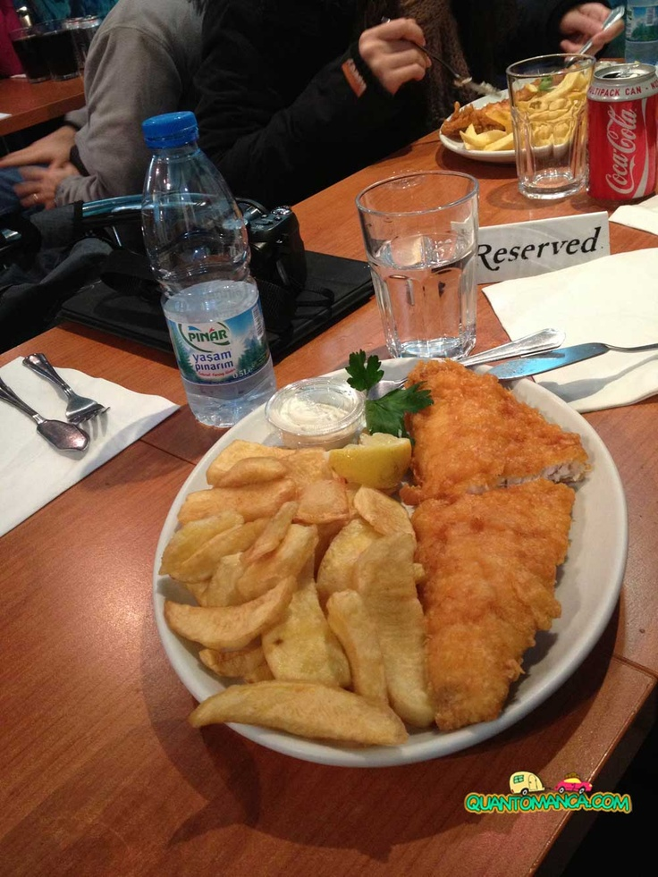 Fish and Chips - Rock and Sole Plaice in Covent Garden - London