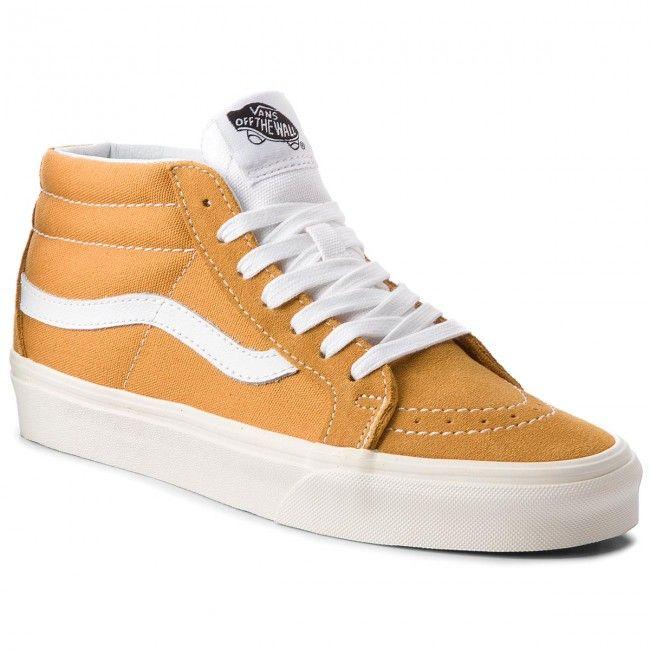 Sneakersy VANS - Sk8-Mid Reissue VN0A3MV8UCP (Retro Sport) Sunflower ...