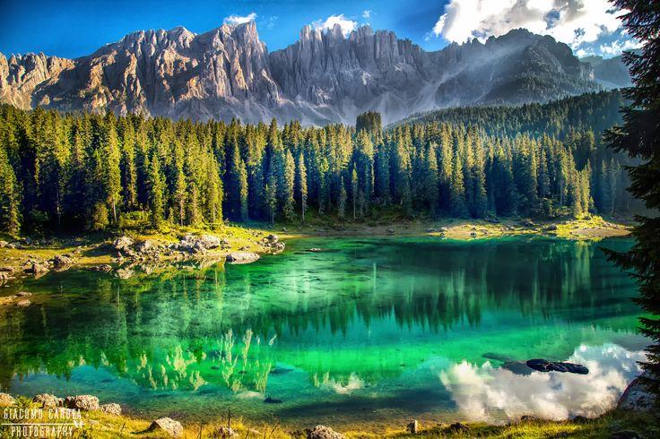 Lago di Carezza - The amazing colors of Lake Carezza