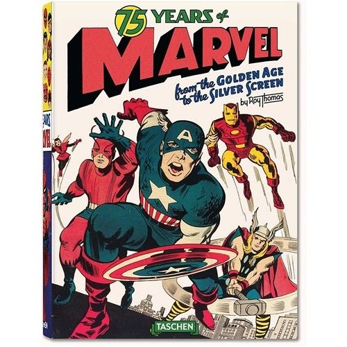 Taschen - 75 Years of Marvel Comics: From the Golden Age to the Silver Screen