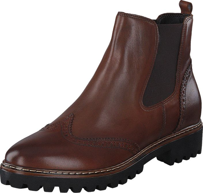 7d1cdc7e365 1-1-25442-27 305 Cognac | Brown and red shoes | Chelsea boots, Shoes, Red  shoes