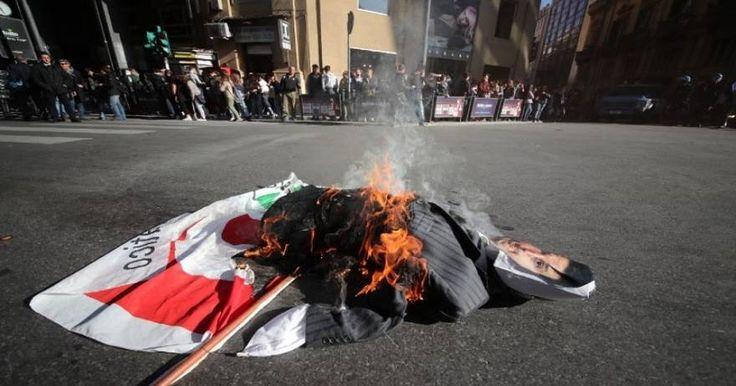 Ιταλία: Φοιτητές διαδήλωσαν στο Παλέρμο κατά του Μ. Ρέντσι (φωτό, βίντεο)