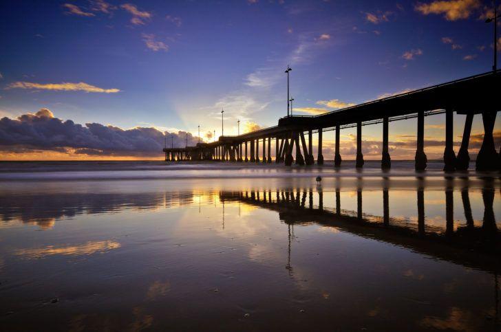 Venice Beach - les 20 plus belles plages d'Amérique du Nord