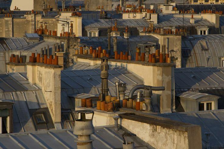 i tetti di Parigi #parigi