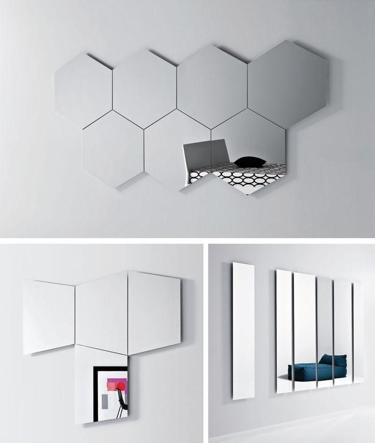 Free geometrika gli specchi creati per tutti gli amanti - Specchi particolari per bagno ...
