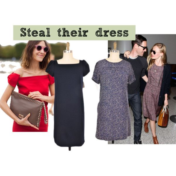 """""""Steal Their Look: Alexa Chung & Kate Bosworth"""" by closetdash on Polyvore"""