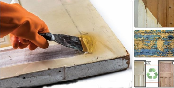 DIY Door stripping – upcycling ideas to re-use wooden doors