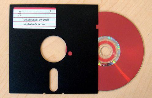 18 formas de reciclar tus diskettes-guardar CDs dentro de diskettes