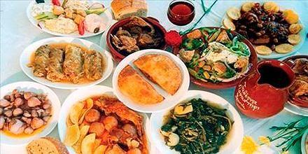 Cretan Diet. Cretan Cuisine, Traditional Cretan Recipes, Ingredients.