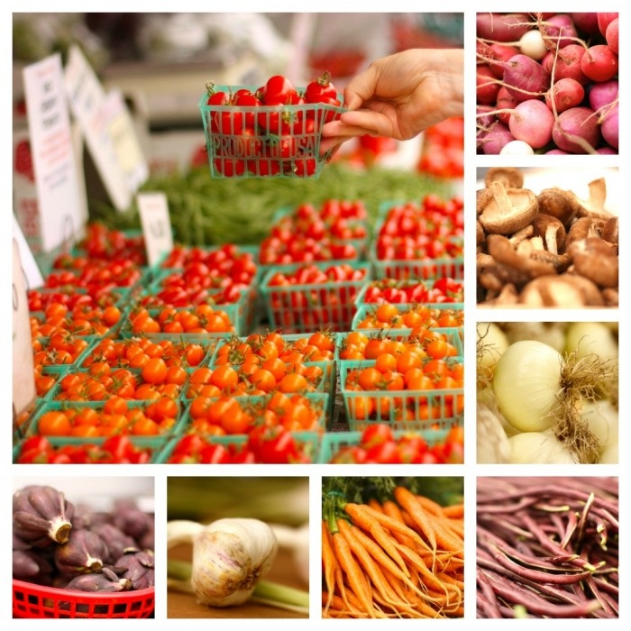 Santa Monica Farmers Market is an abundance of fresh, local produce straight from the grower!  #SMpinspiration