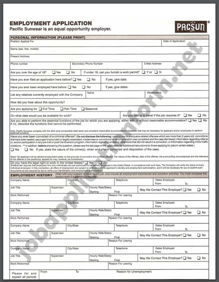 Application For Employment Form Pdf Luxury California Employment Application Template Templates Employment Application Employment Form Job Application