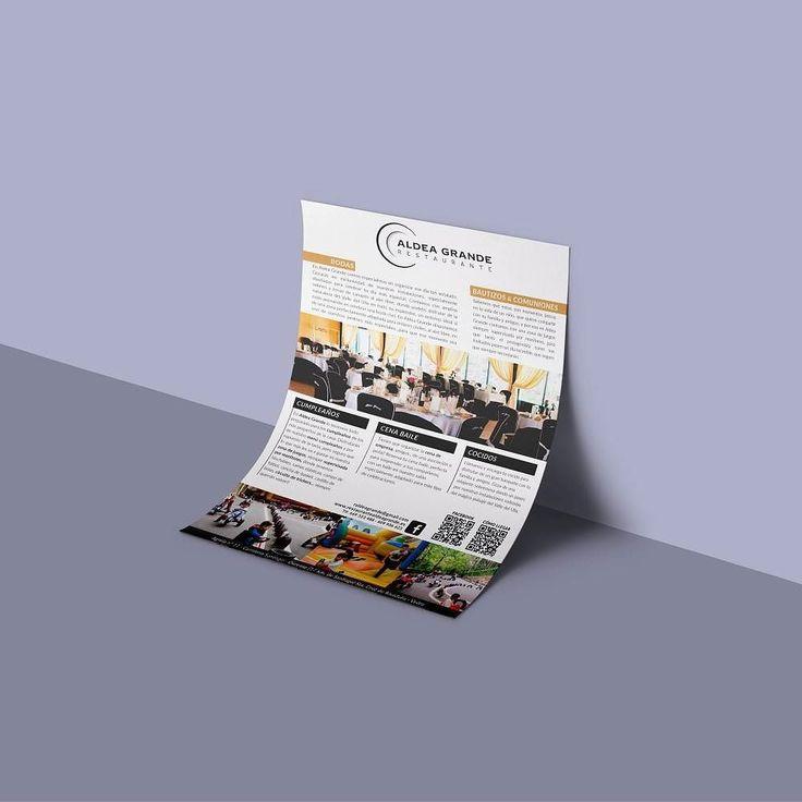 Otro diseño de flyer finalizado para la campaña del Restaurante Aldea Grande #diseñoGalicia #galiciaDiseño #Yeti #galiciaCalidade #galicia #diseño #comunicacion #love #vedra #santiagoDC #trabajoBienHecho #imagenCorporativa #instagood #happy #swag #design #graphicDesign #amazing #bestOfTheDay #art #creatividad #creative #flyer #bodas #bautizos #comuniones #restaurante #food #comida #vedra