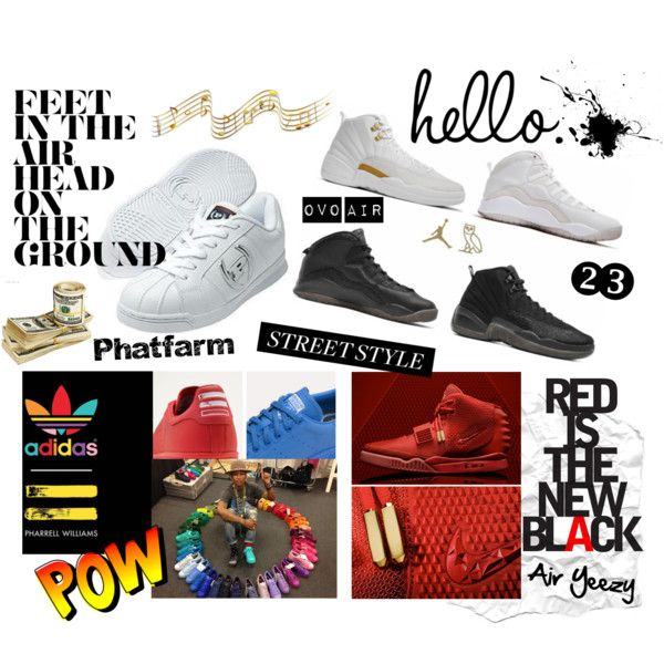 """Hiphop&Sneakers"" by vickysoul on Polyvore"