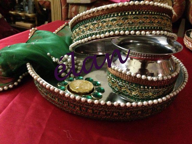 Karwa chauth thali's